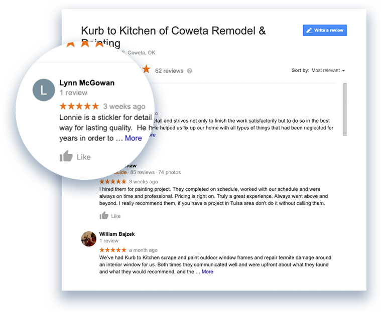 Coweta Painting And Remodeling Reviews